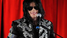 Michael Jackson 'This Is It' Press Conference In London