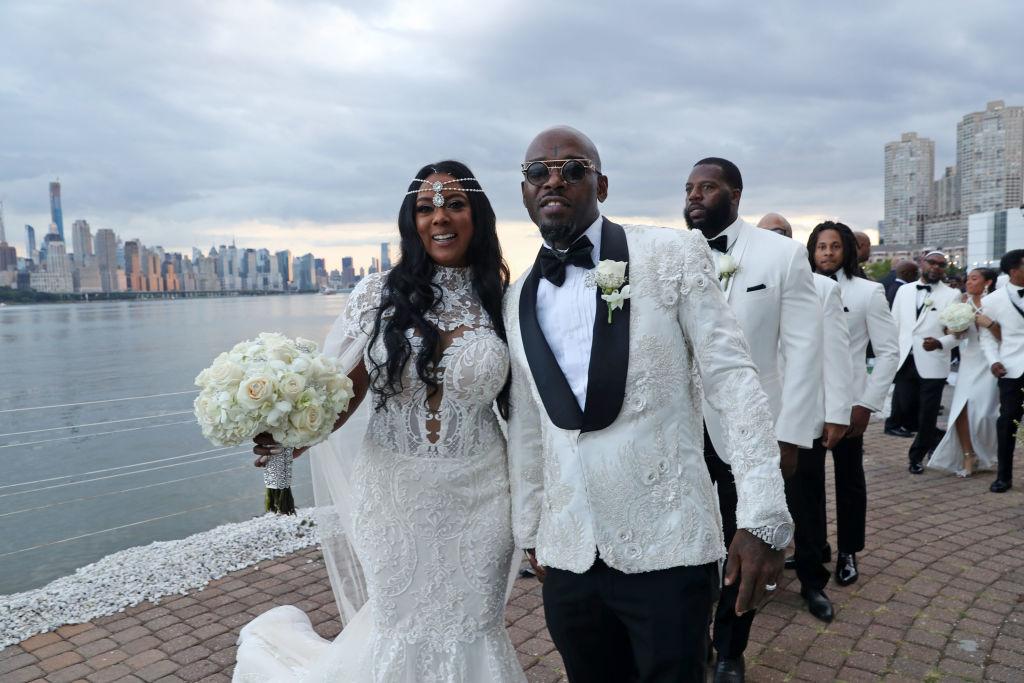 Treach & Cicely Evans Wedding