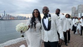 Treach & Cicely Evans Wedding