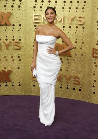 Nicole Scherzinger attends The 71st Emmy Awards - Arrivals in Los Angeles