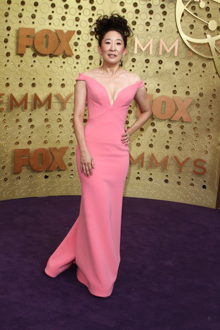 Sandra Oh attends The 71st Emmy Awards - Arrivals in Los Angeles