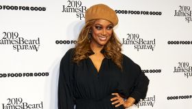 Tyra Banks Hosts James Beard Foundation Gala