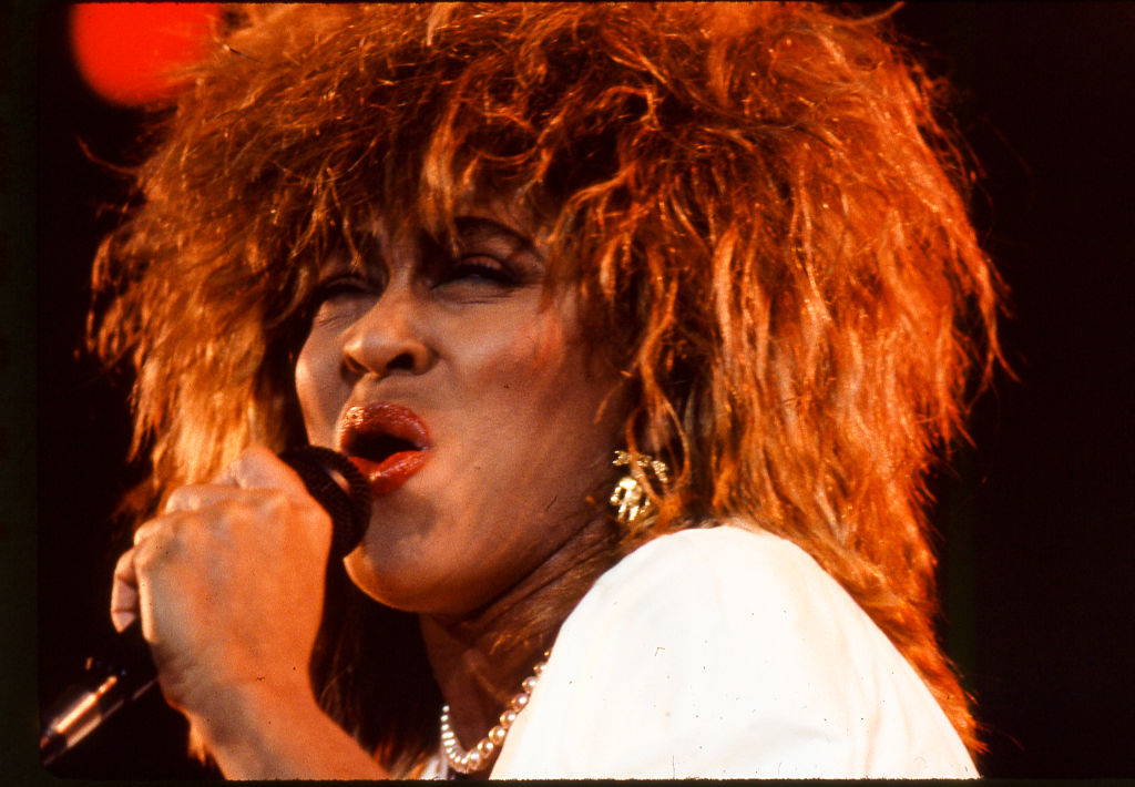 Tina Turner Preforms At Castle Farms Music Theater