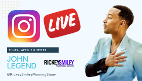 john legend ig live on rickey smiley morning show
