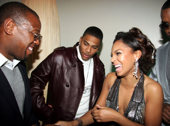 Ashanti's 25th Birthday Surprise Party - Inside