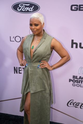 Eva Marcille attends Essence Black Women In Hollywood