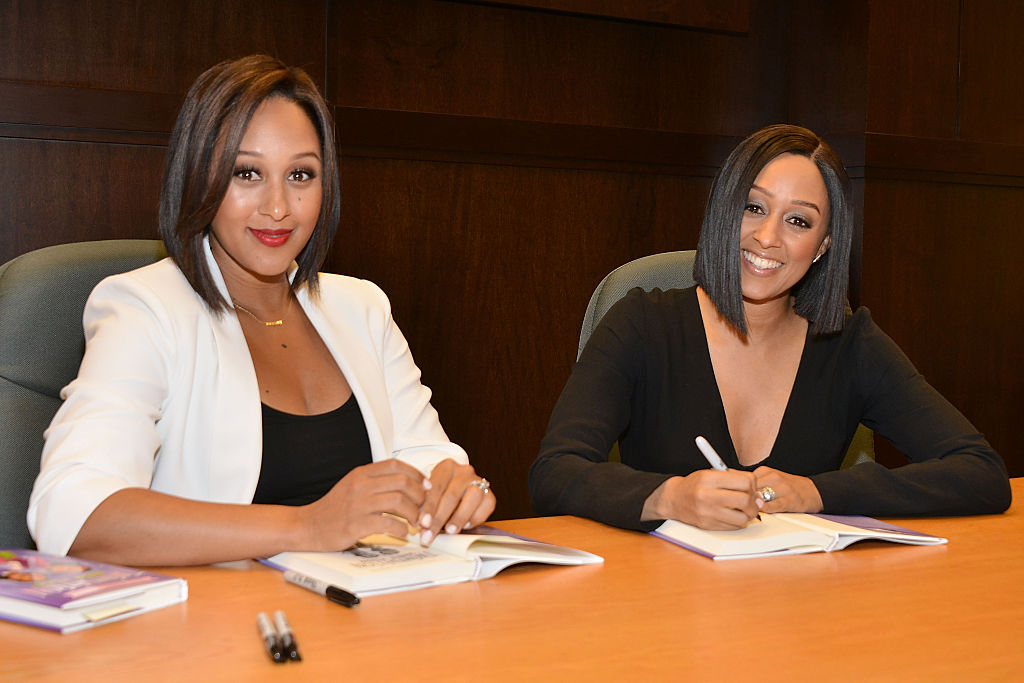"Tia And Tamera Mowry Sign And Discuss Their New Book ""Twintuition"""