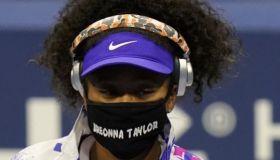 Naomi Osaka's Breonna Taylor Mask