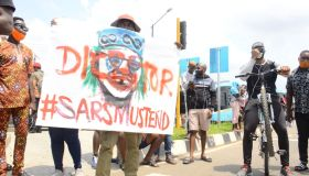End SARS Protest In Lagos