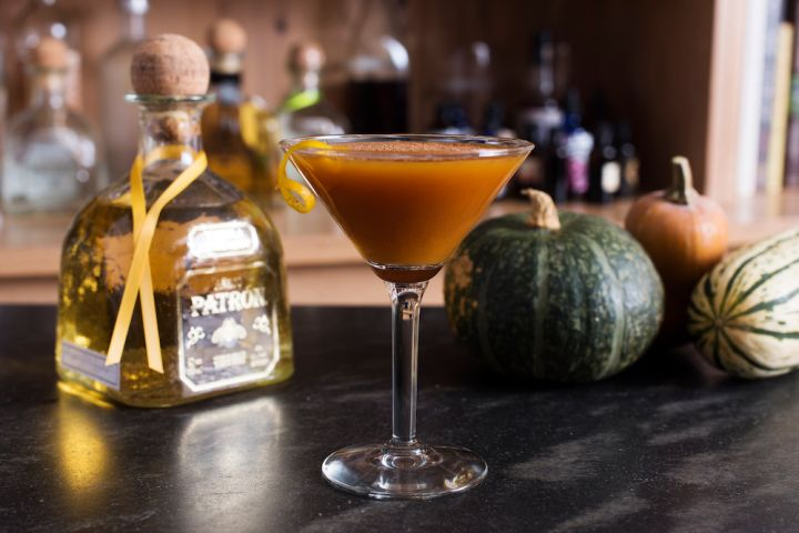 Patron Pumpkin Pie Martini