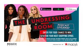 The Undressing Room Podcast Macy's Gift Card Giveaway Graphic